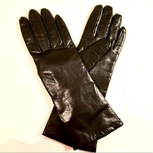 Charter Club Italian leather gloves